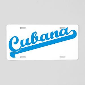 Cubana cp Aluminum License Plate