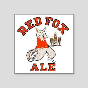 """redfoxale Square Sticker 3"""" x 3"""""""