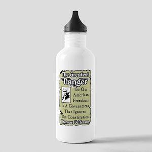 dangernew Stainless Water Bottle 1.0L