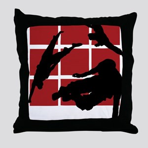 Parkour edge B Throw Pillow