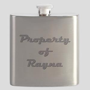 Property Of Rayna Female Flask