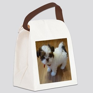 Shih Tzu Puppy Canvas Lunch Bag