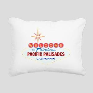 PACIFIC PALISADES Rectangular Canvas Pillow