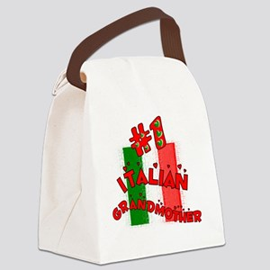 Italian Grandmother Canvas Lunch Bag