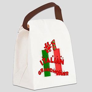Italian Grandmother Canvas Lunch Bag