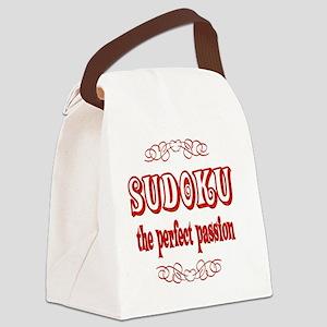 2-sudoku Canvas Lunch Bag