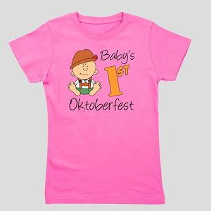 Babys First Oktoberfest Girl's Tee
