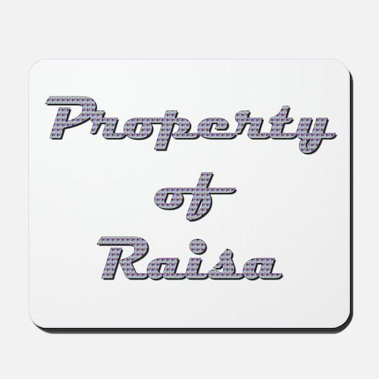 Property Of Raisa Female Mousepad