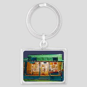 Taylor Grocery Landscape Keychain
