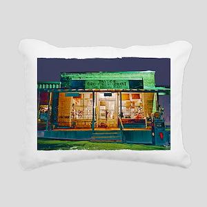 Taylor Grocery Rectangular Canvas Pillow