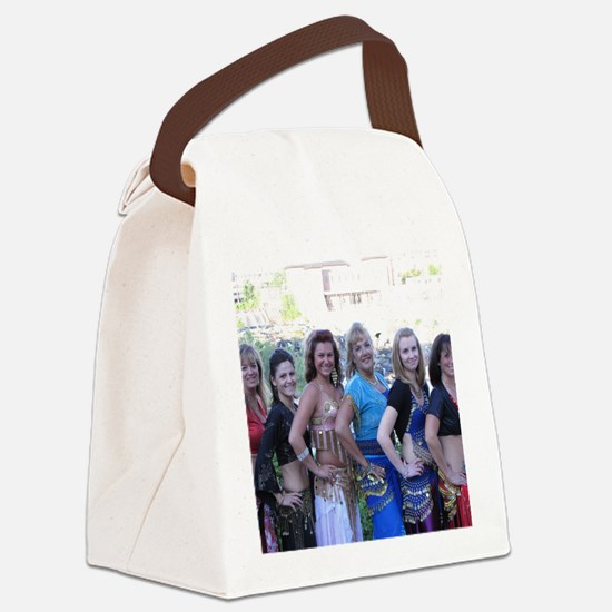 Belly Dancing 17 Canvas Lunch Bag