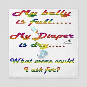 diaper dry Queen Duvet