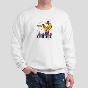 Chicago Jazz Guy Sweatshirt