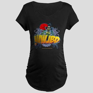 wwjbd_whiteshirt Maternity Dark T-Shirt