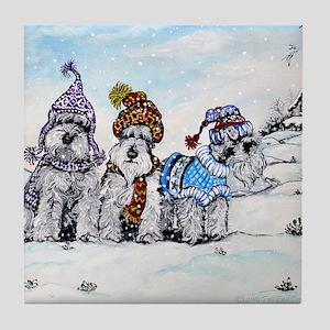 Christmas 4.5x5.75 Tile Coaster