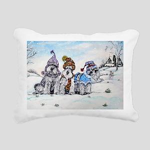 Christmas 4.5x5.75 Rectangular Canvas Pillow