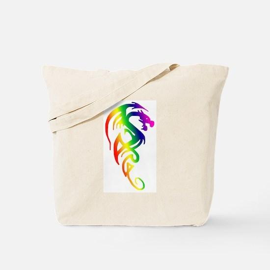 Tribal Dragon Tote Bag