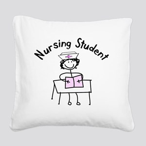 Nursing Student Square Canvas Pillow