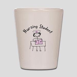 Nursing Student Shot Glass