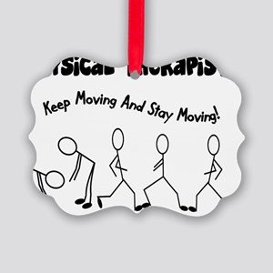 Physical Therapist Picture Ornament