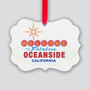 OCEANSIDE Picture Ornament