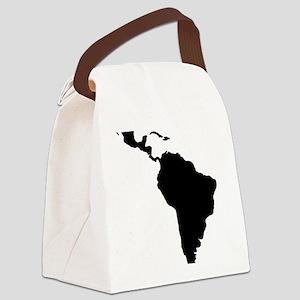lateinamerika Canvas Lunch Bag