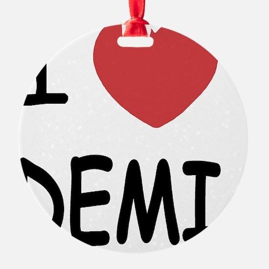 DEMI Ornament