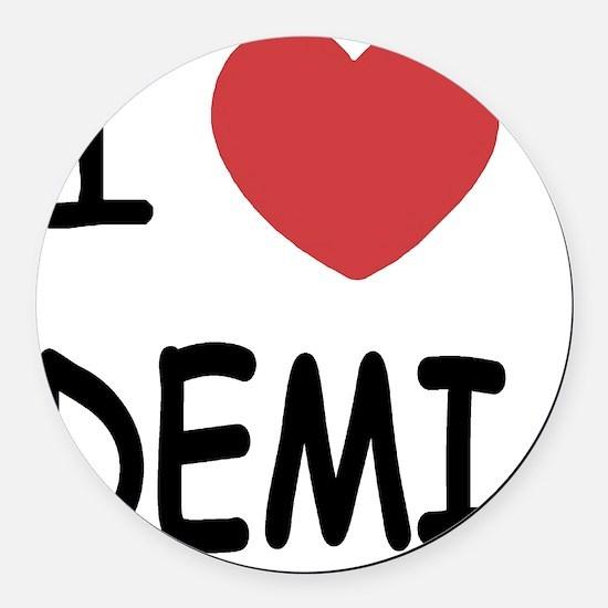 DEMI Round Car Magnet