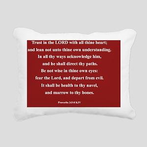 Prov 3 5-8.155Beb Rectangular Canvas Pillow