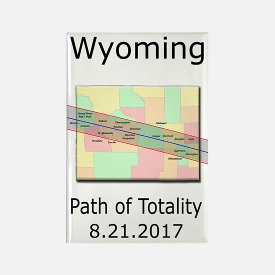 Cute Wyoming Rectangle Magnet