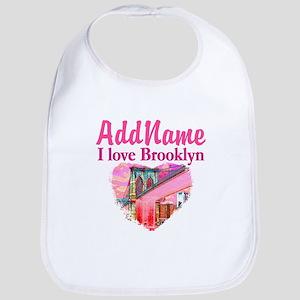 LOVE BROOKLYN Bib