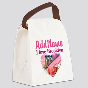 LOVE BROOKLYN Canvas Lunch Bag