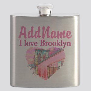 LOVE BROOKLYN Flask