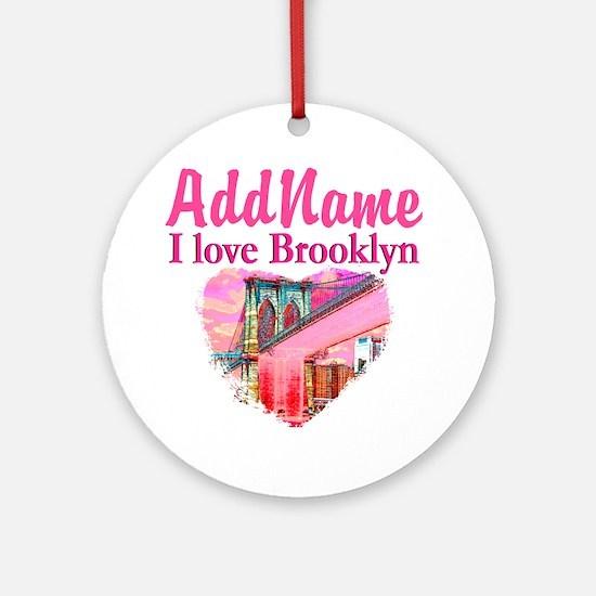 LOVE BROOKLYN Ornament (Round)