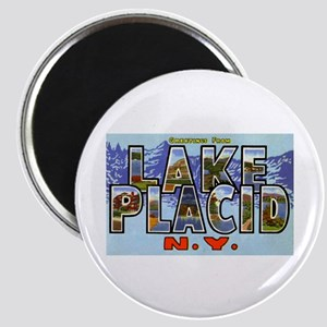 Lake Placid New York Magnet