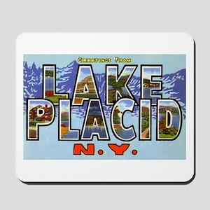 Lake Placid New York Mousepad