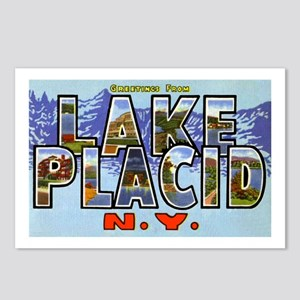 Lake Placid New York Postcards (Package of 8)
