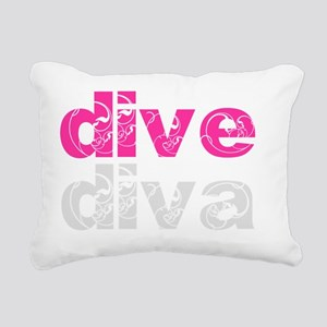 divediva_light Rectangular Canvas Pillow