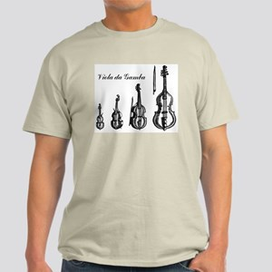 Viola da Gamba T-Shirt, light colors