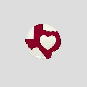 heart_maroon Mini Button