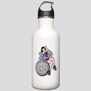 transparentnewlogofull Stainless Water Bottle 1.0L