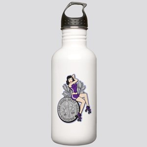 transparent Stainless Water Bottle 1.0L