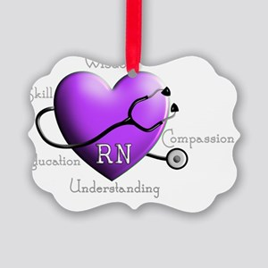Registered Nurse Picture Ornament