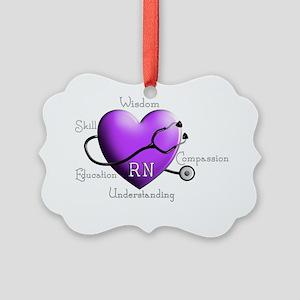 Registered Nurse Picture Ornament