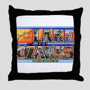 Lake of the Ozarks Missouri Throw Pillow