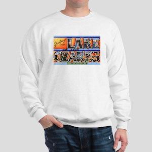 Lake of the Ozarks Missouri (Front) Sweatshirt