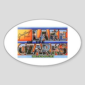 Lake of the Ozarks Missouri Oval Sticker