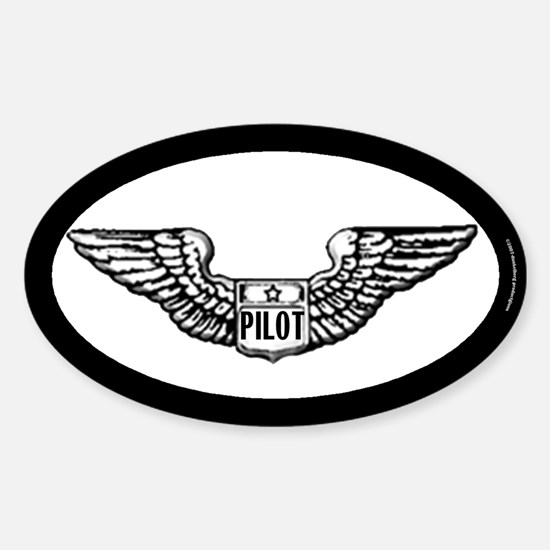 Pilot gear Oval Decal