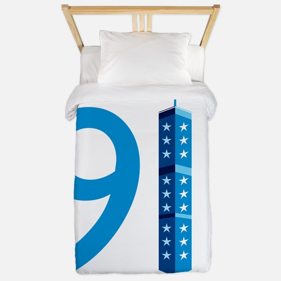 911 Never Forget Twin Duvet