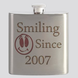 smiling 2007 Flask